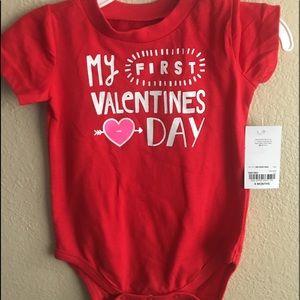 Other - My First Valentines Day Onesie